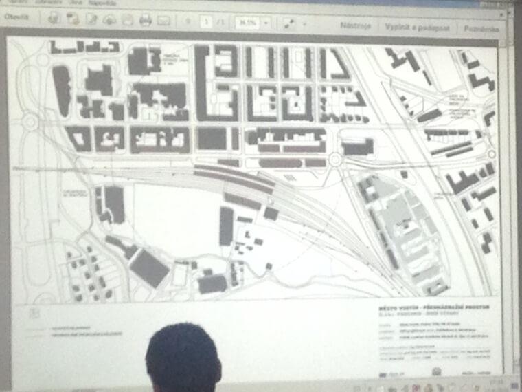 Aktuální informace krekonstrukci nádraží, přednádražního prostoru a výstavbě obchodní galerie