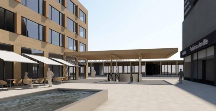 Město Vsetín developera přemluvilo a obchodní galerie se začne stavět