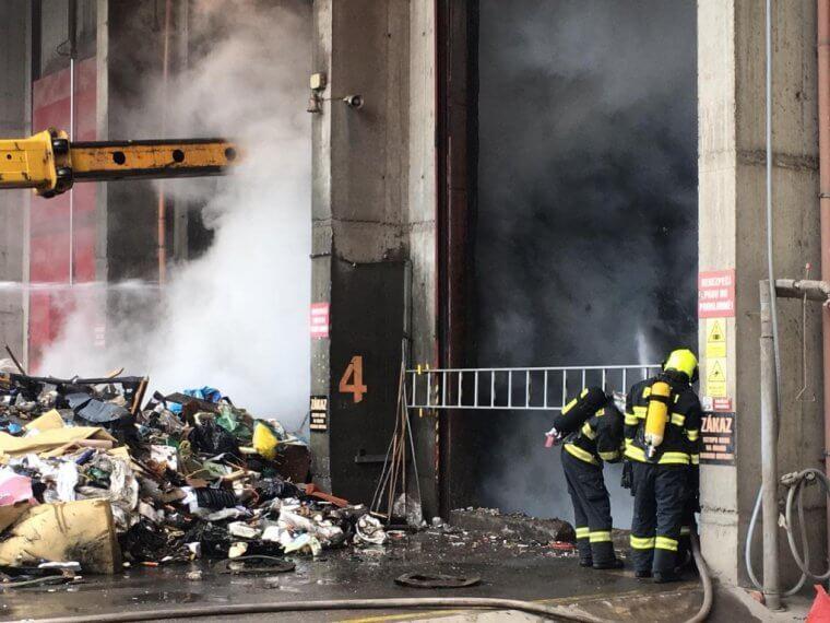 V liberecké spalovně hořelo. KOV: To ve Vsetíně nepřipustíme